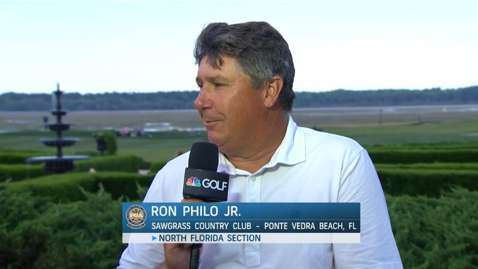 Ron Philo Leads 52nd Pga Professional Championship New England Dot Golf