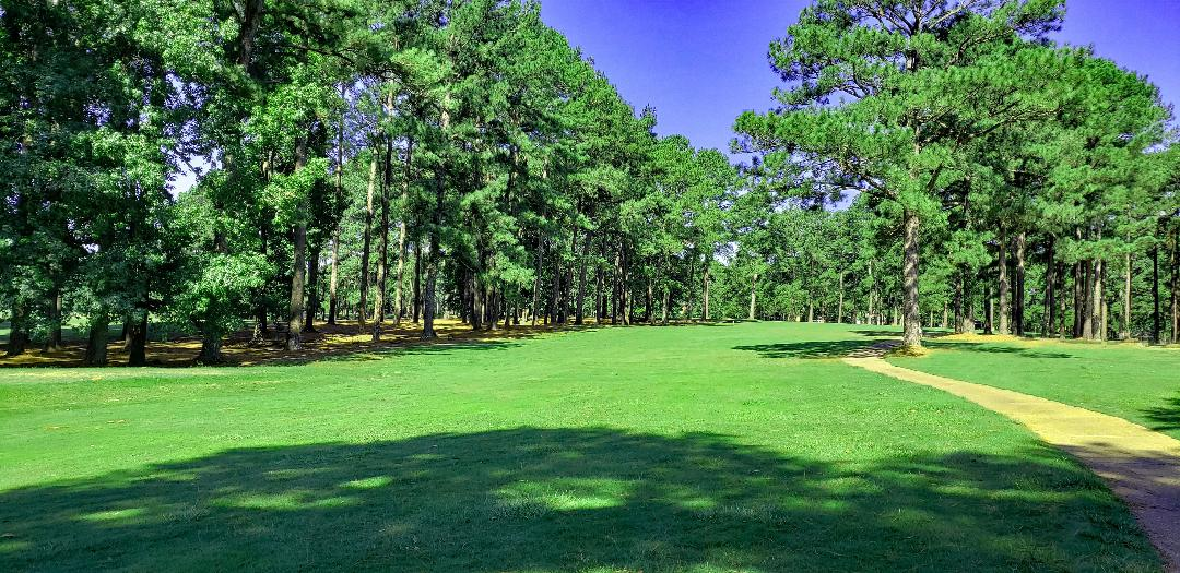Bayumber 18: Par 4, 370 yards.</strong> A dogleg right with out of bounds to the right on the parallel fairway. Pointe Golf Course_The Golfin Guy_18_preview
