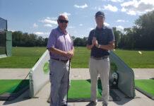 Eric and Bill McInerney McGolf Dedham Mass. Driving Range Mini Putt